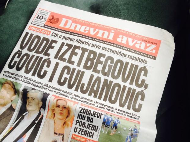 Propaganda in Bosnische media
