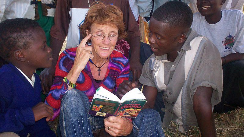 Een Friese boerin op missie in Tanzania