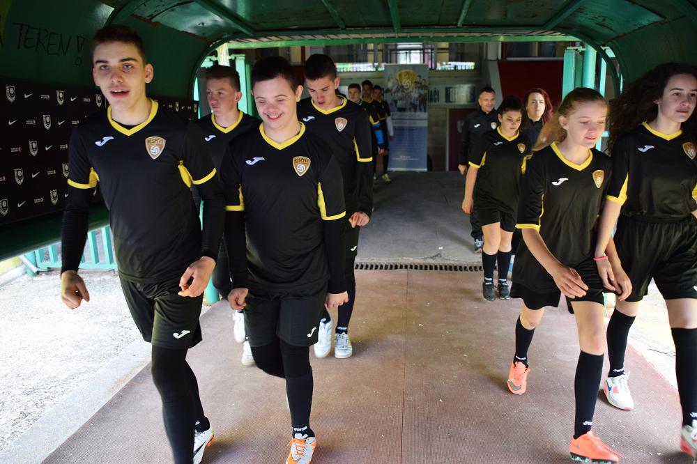 Voetbalclub Respekt Sarajevo Bosnie en Herzegovina